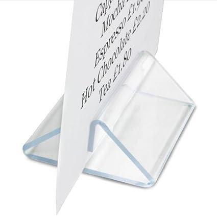 Tipo de tienda de campaña metacrilato soporte para cartas de ...