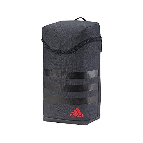 Adidas 2017 3-Stripes Golf Spielraum Mittlere Schuh Beutel / Tote Dark Grey/Black/Scarlet
