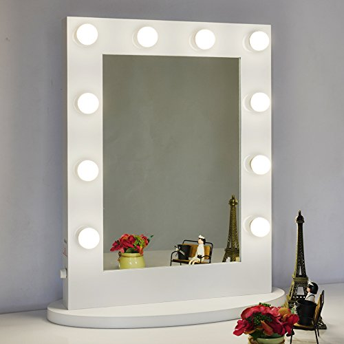 Chende vanity mirror with light hollywood makeup mirror wall mounted chende vanity mirror with light hollywood makeup mirror wall mounted lighted mirror free led bulbs 6550 buy online in uae kitchen products in the aloadofball Image collections