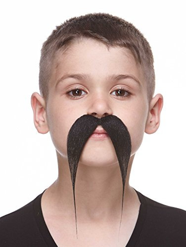 Kung Fu Master Adult Costumes (Small Kung-fu master black mustache)
