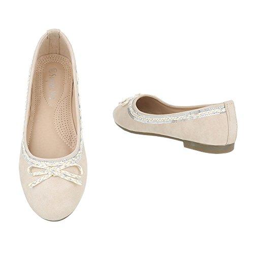 Ital-Design - Cerrado Mujer , color blanco, talla 41 EU