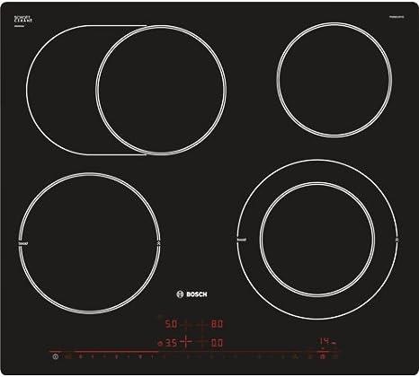 Opinión sobre Bosch PKN601DP1D hobs Negro Integrado Cerámico - Placa (Negro, Integrado, Cerámico, Vidrio y cerámica, CE, UA, VDE, Tocar)