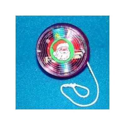 Kurt Adler Plastic Electronic YO YO With Lights & Music.: Home & Kitchen