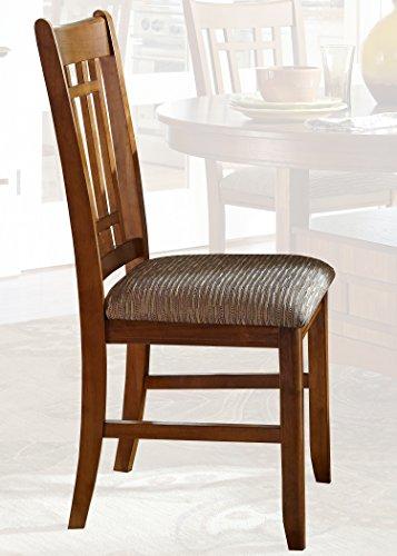 (Liberty Furniture INDUSTRIES 25-C8600S Santa Rosa Rub Dining Side Chair, 18