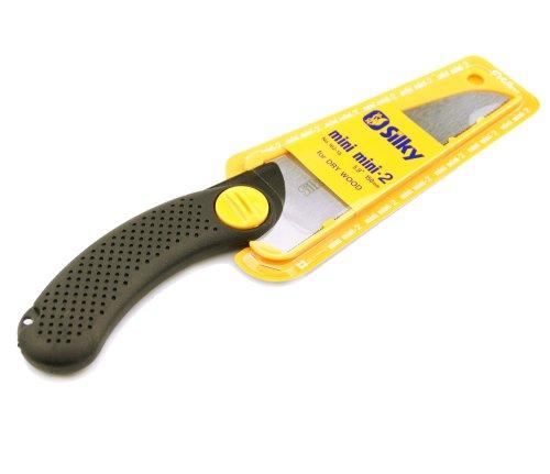 Silky Straight Woodworking Hand Saw MINI-MINI2 150 Extra Fine Teeth (Wood) #162-15 ()