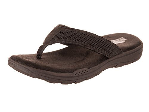 Flop Men's Skechers Evented Relaxed Fit Flip Borte Chocolate rgPwPYdqf