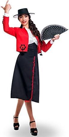 Yuppiyei Disfraz de Cordobesa para Mujer: Amazon.es: Juguetes y juegos