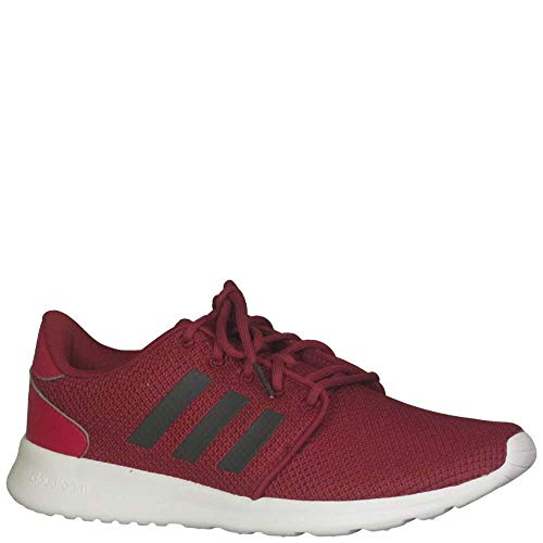 adidas Women's QT Racer Running Shoe, Mystery Ruby/Carbon, 9 M US