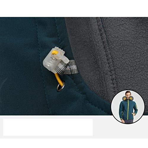 Polar Outwear Liso Capucha Sweat Jacket Forrada Forrada Fit De Grün Forro Slim Casual Chaqueta Ropa Forro Manga Larga con Invierno Abrigo De wqxRXtU
