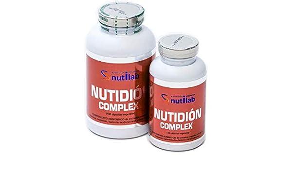 Nutilab Nutidion Complex - 180 Cápsulas: Amazon.es: Salud y cuidado ...