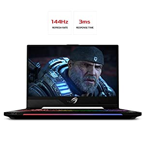 "ASUS ROG Strix SCAR II Gaming Laptop 15.6"" 144Hz 3ms IPS-Type, Intel Core i7-8750H (up to 3.9GHz), GeForce GTX 1070 8GB, 512GB PCIe SSD, 16GB DDR4, RGB, Windows 10 Professional - GL504GS-XS76"