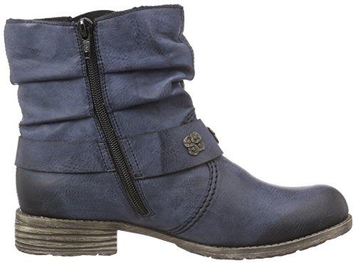 Rieker74798 - botas Mujer Azul - Blau (ozean / 14)