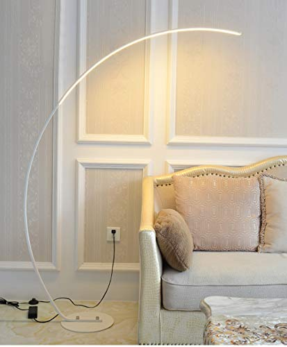 Used, Nordic LED Floor Lamp, Dimmable Curve Vertical Floor for sale  Delivered anywhere in Canada
