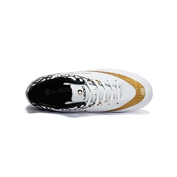 Xinghuanhua Chaussures de Football Unisexes Chaussures D'entraînement pour Adolescents Chaussures de Football en Plein…
