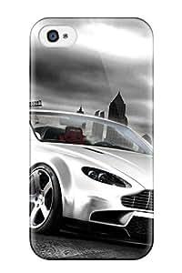 Iphone 4/4s Case Bumper Tpu Skin Cover For Aston Martin Wallpaper Accessories