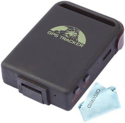 CITTATREND-Localizador GPS Tracker Seguidor para Automóvil Coche Vehículo Moto Camión TK102B