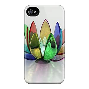 Awesome Flower 3d Flip Cases With Fashion Design For Iphone 6 by icecream design