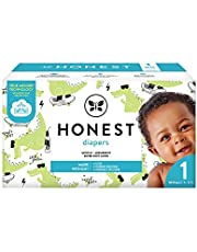 The Honest Company The Honest Company Club Box Diapers With Trueabsorb Technology, L8ter Gator, Size 1, 80 Count