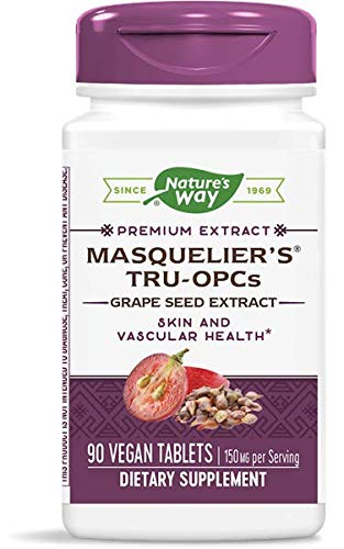 Nature's Way Masquelier's Tru-OPCs, 150 mg per serving, 90 Tablets
