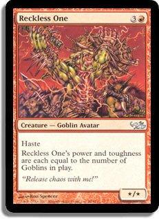 Magic: the Gathering - Reckless One - Duel Decks: Elves vs Goblins