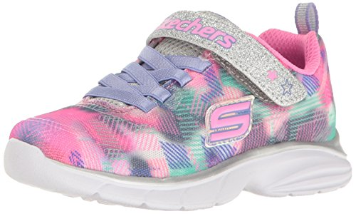 Skechers Kids Girls Spirit Sprintz-Rainbow Raz Sneaker