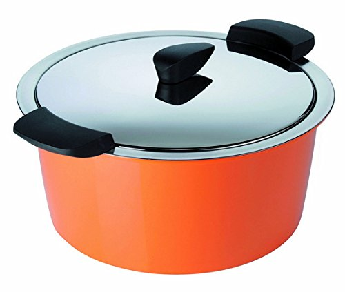 Kuhn Rikon 1-Quart Hotpan Casserole, Orange