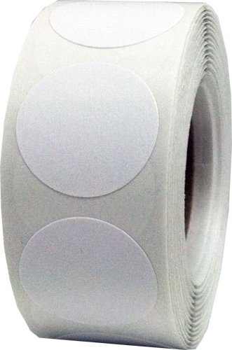 Color coding labels white round circle dots for organizing inventory 3 4 inch 500 total