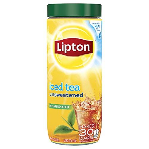Lipton Iced Tea Mix, Decaffeinated Unsweetened 30 qt