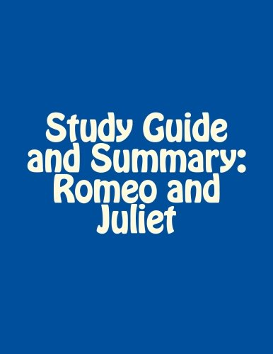 Romeo and Juliet: Study Guide Questions and Answers ...