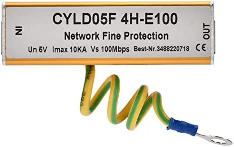 Ethernetoverspanningsbeveiliging overspanningsbeveiliging metaal Snelle reactie RJ45 RJ11 Intelligente besturing voor overspanningsbeveiliging van het bewakingssysteem