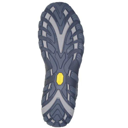 Merrell Waterpro Trek - Zapatillas de sintético para hombre negro Elfenbein (ice/navy)