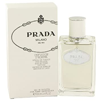 Amazon.com   Infusion d Homme by Prada Eau De Toilette Spray 3.4 oz ... f47713161b8