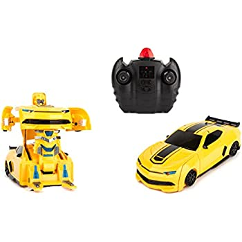 this item wall climbing fast electric rc toys autobots yellow transformable robot race cars remote control the perfect gift for kids