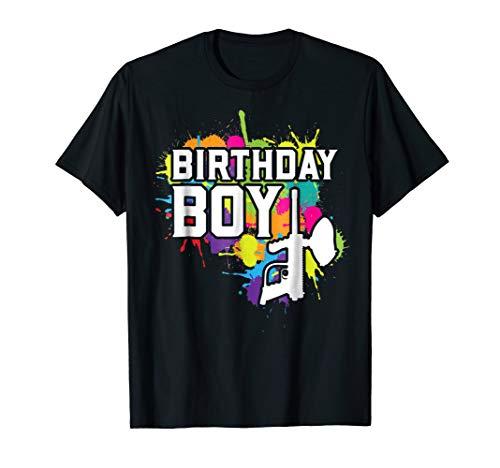 Paintball Birthday Boy Party Theme