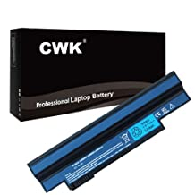 CWK® New Replacement Laptop Notebook Battery for Acer Aspire One 532H-2223 532H-2226 AO532H-2527 Acer Aspire Happy ONE 522 D255 D257 AL10B31 AL10A31 Acer Aspire One 253h 532 532h AO532h 532G AO532G UM09C31 Acer Aspire One 533 AO533 eMachines 350 NAV50 UM09H56 UM09H75 Gateway LT23 LT25 LC.BTP00.128 LC.BTP00.129 Acer Aspire one UM09G31 UM09H31 UM09H41 Acer Aspire one 532h NAV50 AO532h Gateway LT2102H, LT2104U, LT2106U