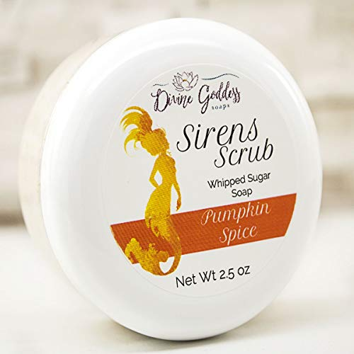 Pumpkin Spice Sirens Scrub Whipped Sugar Soap ()