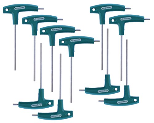 Steel Vanadium Stainless - 10 Pack 4mm T Allen Wrench Ideal for Tripod Penggong 6150 Vanadium Stainless Steel