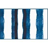 Paper Placemats Table Mats Disposable Table Linens Shibori Tie Dye Look Blue Placemats Pk 24 Table Placemats
