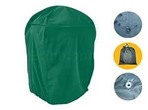 Ronda Funda para Barbacoa Cubierta Cubre Cubrir Tapa Protección UV Verde SHQ1NB