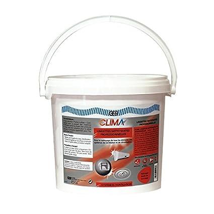 Toallitas limpiadoras para climatización y ventilación