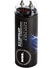 Sound Storm Labs C352 3.5 Farad Car Capacitor for Energy Storage to Enhance Bass Demand from Audio System