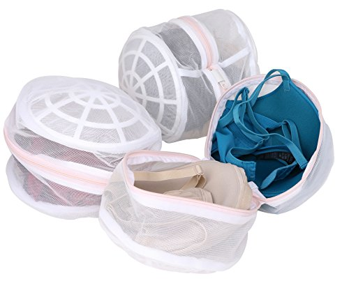 Underwire Detail (Laundry Science Premium Large Bra Wash Bag for Bras Lingerie and Delicates Set of 3)