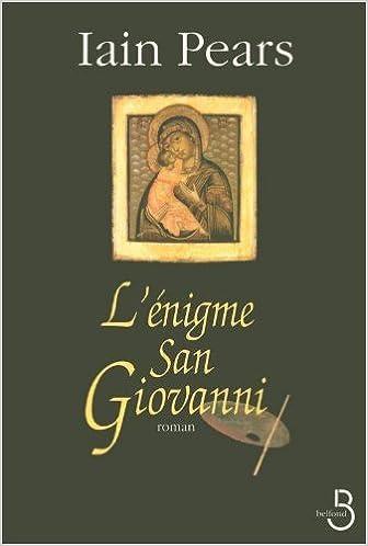 L'enigme San Giovanni - Iain Pears