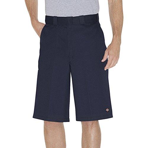 Multi Pocket Work Shorts (Dickies Men's 13 Inch Flex Multi-Pocket Work Short Loose Fit Big, Dark Navy, 46)