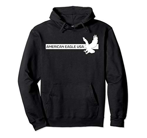 Eagle USA Great Gift #4 Pullover Hoodie American Eagle Cotton Sweater