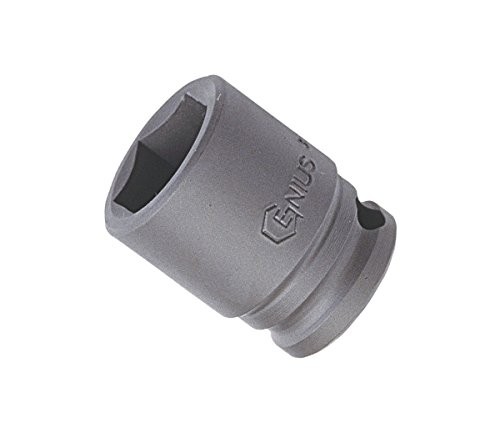 "Price comparison product image Genius Tools 1/2"" Dr. 18mm Impact Socket 444018"