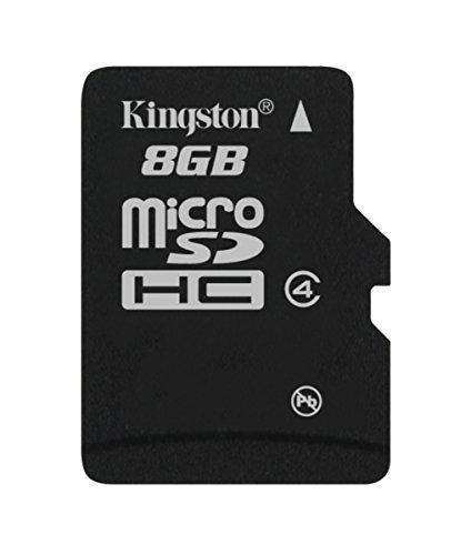 Kingston Digital 8GB microSDHC Class 4 Flash Memory Card ...