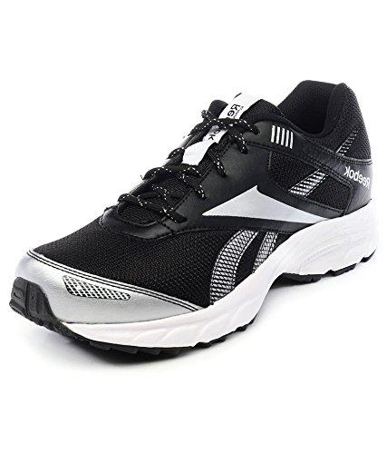 359231e3c678c Reebok Men s Exclusive Runner Lp Black Silver White Running Shoes-11 ...