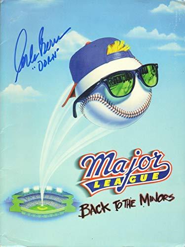 Corbin Bernsen Signed Major League Back To The Minors Press Kit Folder BAS COA - Beckett Authentication