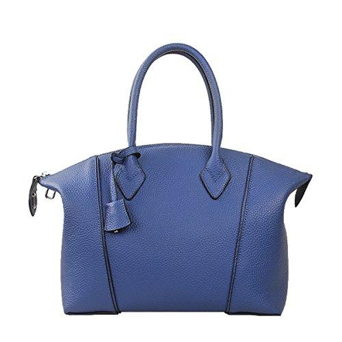 portés LF Sac main épaule Sac Sac 8092 fashion à main cuir Sac Valin en femme bandoulière Bleu portés v7qwCRdx